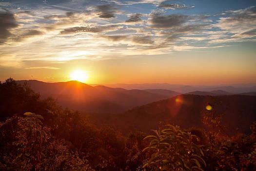 Sunrise Over Asheville by Lynne Jenkins