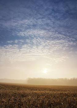 Sunrise Over Harvest by Michael Huddleston