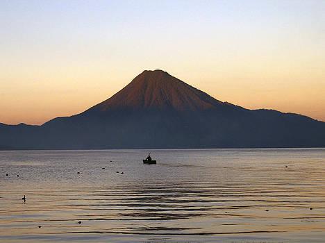 Kurt Van Wagner - Sunrise over Lake Atitlan