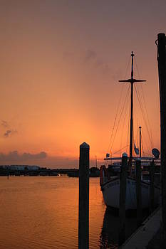 Sunrise over Sails by Sheri Heckenlaible