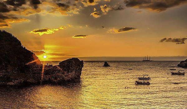 Sunrise over Sicilia by Valerii Tkachenko