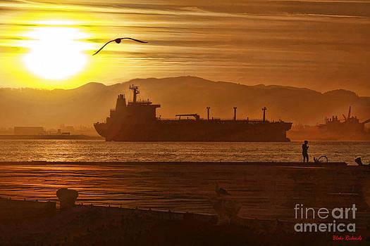 Blake Richards - Sunrise Over Tanker