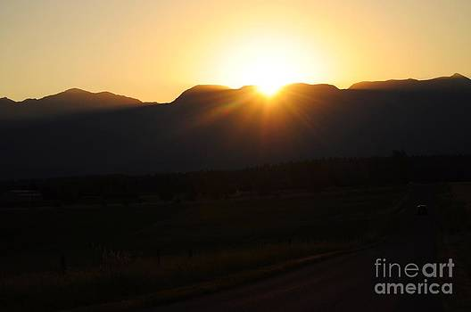 Sunrise over the  Mountains by Diana Nigon