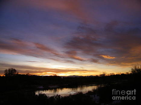 Sunrise Over the Snake River by Gale Cochran-Smith