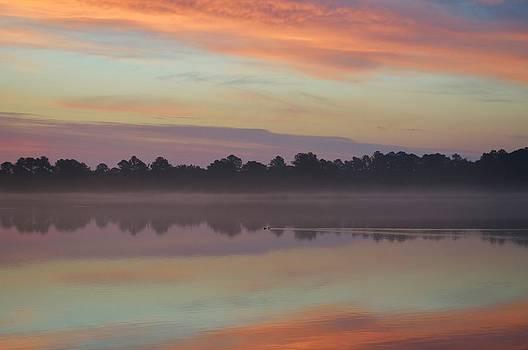 Sunrise Paddle by William Bartholomew