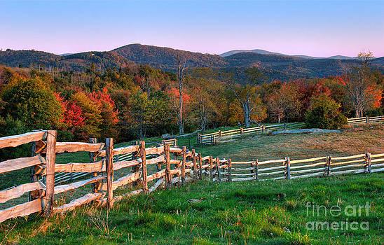 Dan Carmichael - Sunrise Pastures - Blue Ridge Parkway