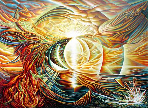 Sunrise Phoenix by Nad Wolinska