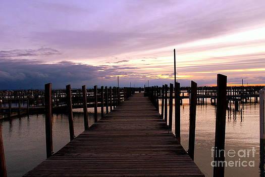 Sunrise Pier by Pete Dionne