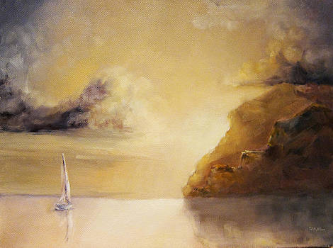 Sunrise Sail by Diane Kraudelt