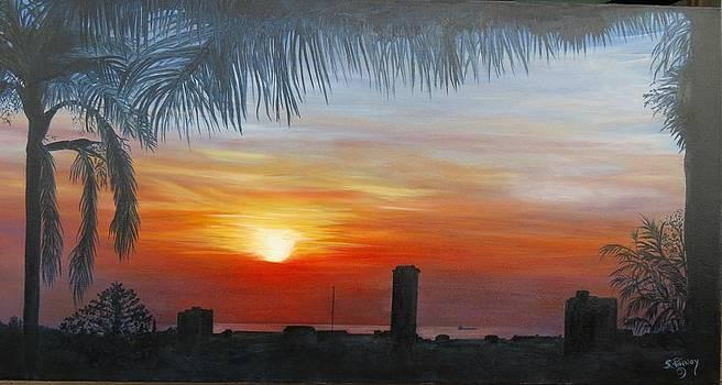 Sunrise  by Stephanie Pinnoy