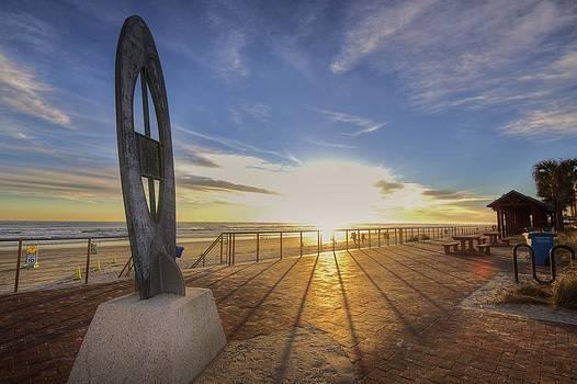 Sunrise Surf Monument by DM Photography- Dan Mongosa