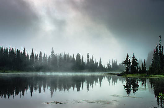 Sunrise Through the Mist by Brian Xavier