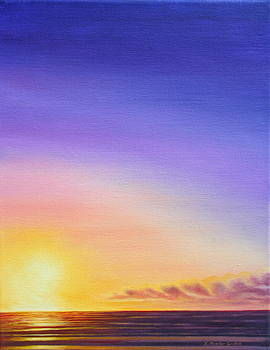 Sunset Abyss by Kristine Mueller Griffith