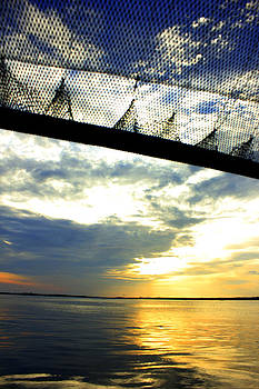 Sunset And  Fishing Nets by Yusron Rohim
