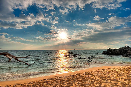 Sunset at Beach 69 by Kirk Shorte