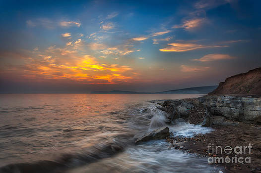 English Landscapes - Sunset At Hanover Point