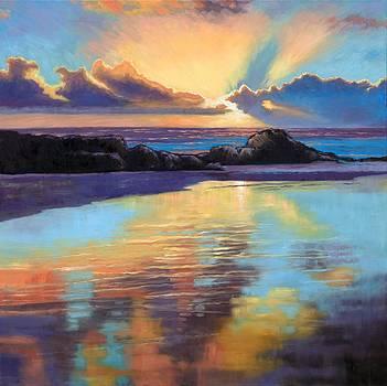 Janet King - Sunset at Havika Beach