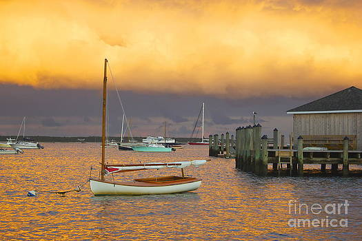 Sunset at Kennedy Compound by Amazing Jules