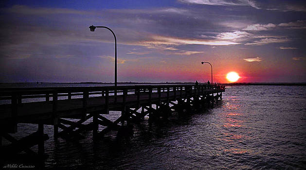 Sunset at Point Lookout by Mikki Cucuzzo