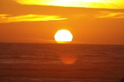 Sunset at Seaside by Jay Warwick