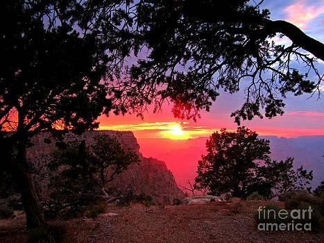 John Malone - Sunset at the Grand Canyon Two