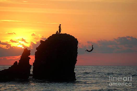 Sunset Backflip #2 by Stav Stavit Zagron