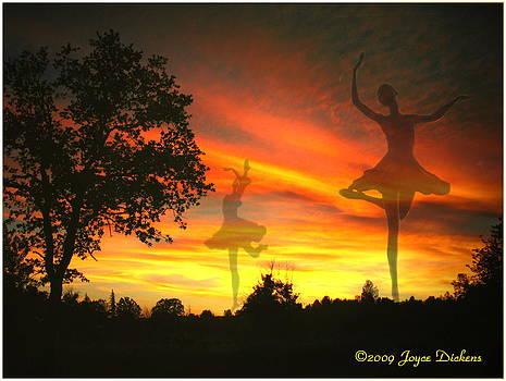 Joyce Dickens - Sunset Ballerina