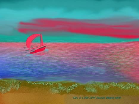 Sunset. Begins wind by Dr Loifer Vladimir