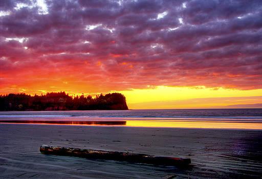 Sunset Blaze by Rod Mathis