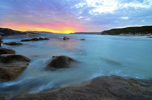 Sunset Blue by Sally Nevin