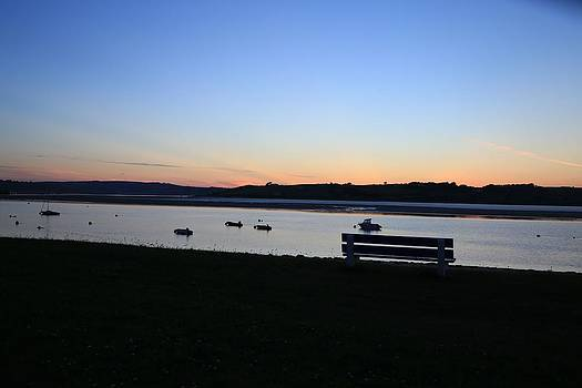 Sunset Courtmacsherry Co Cork by Maeve O Connell
