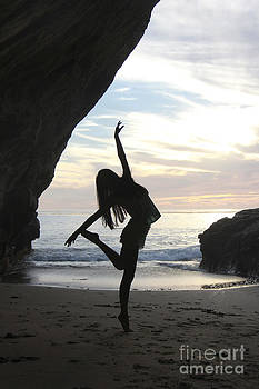 Sunset dancer by Angelina W