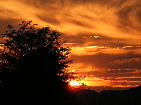 Sunset by Edward Hamilton