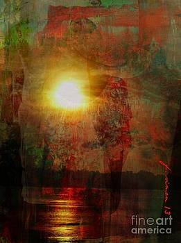 Sunset Expression by Fania Simon