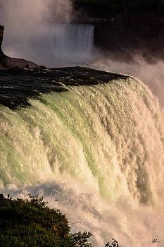 Sunset Falls by Pat Scanlon