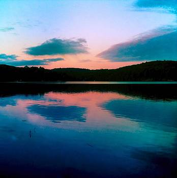 Sunset Faraday Trout Lake by Lesley McCormack