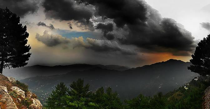 Sunset by Farhan Raza Naqvi