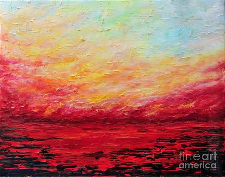 Sunset Fiery by Teresa Wegrzyn