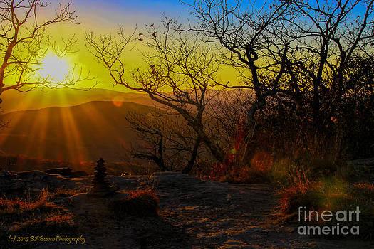 Barbara Bowen - Sunset from Blood Mountain