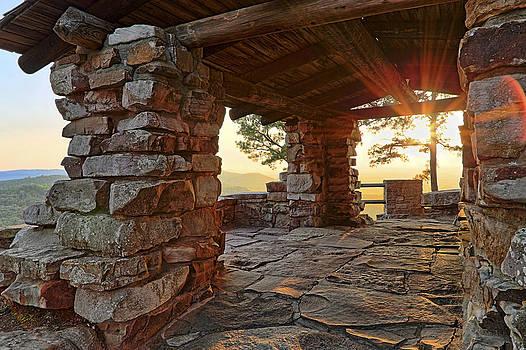 Jason Politte - Sunset from the CCC Overlook - Petit Jean State Park - Arkansas