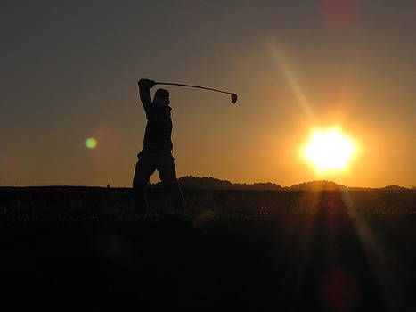 Shane Brumfield - Sunset Golfer