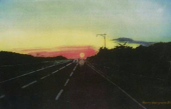 Sunset by Henry Hargrove