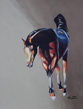 Sunset Horse by Kayleigh Semeniuk