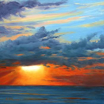 Sunset I by Elaine Farmer