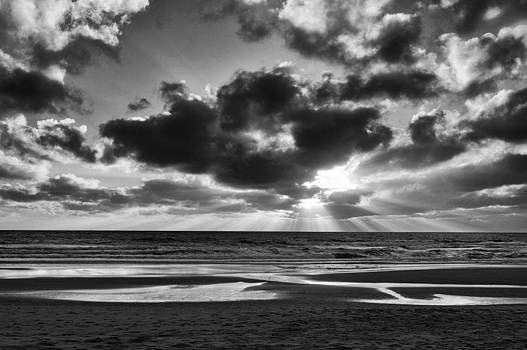 Sunset in B and W by Patrick OConnell