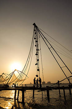 Sunset in Kerala by Stewart Granger