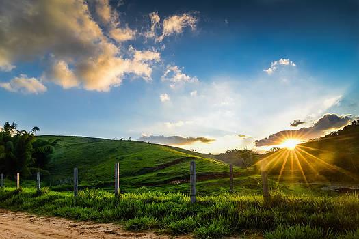 Sunset in Santa Ignacia  - Valenca - Brazil by Igor Alecsander
