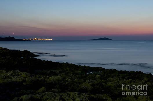 Sunset island by Francesco Zappala
