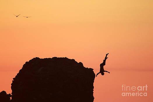 Sunset Jump  by Stav Stavit Zagron