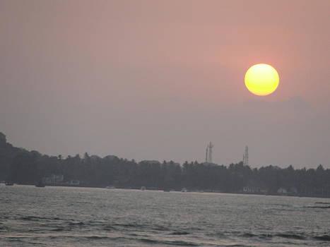 Sunset by Makarand Kapare